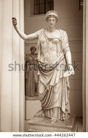 Hera the ancient Greek goddess