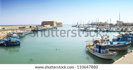 Heraklion - stock photo