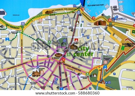 Heraklion Crete September 19 2016 City Stock Photo 588680360
