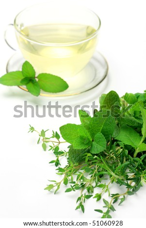 herb and herb tea
