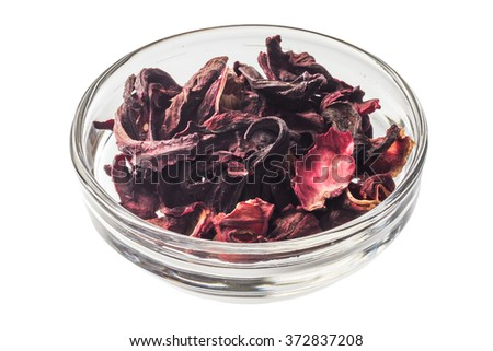 Herb tea vitamins hibiscuses