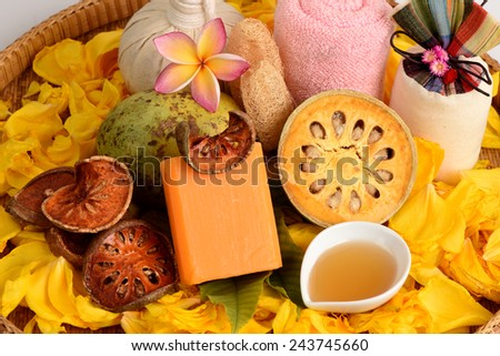 Herbal Soap, Fresh Bael and honey aroma to relax.
