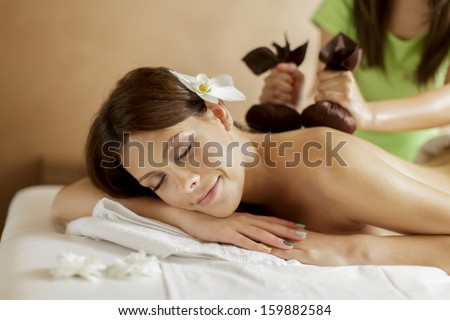 Herbal spa - stock photo