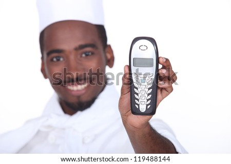 Here, it's for you - stock photo