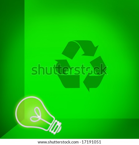 heres an idea...recycle! - stock photo