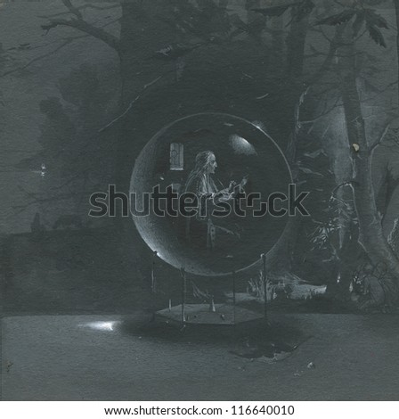 Hermit - stock photo