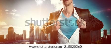 Hero - stock photo