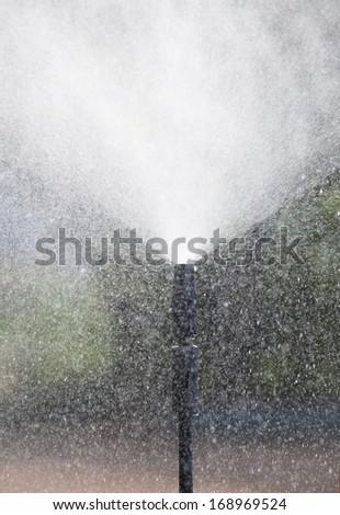 hi pressure water jet  - stock photo