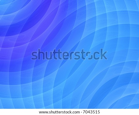 hi res image of blue fractal