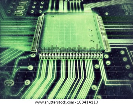 Hi-Tech - stock photo