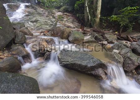 beautiful soft waterfall in - photo #15