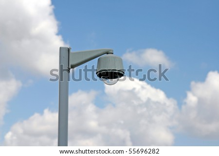 Hidden secure camera or light stand.