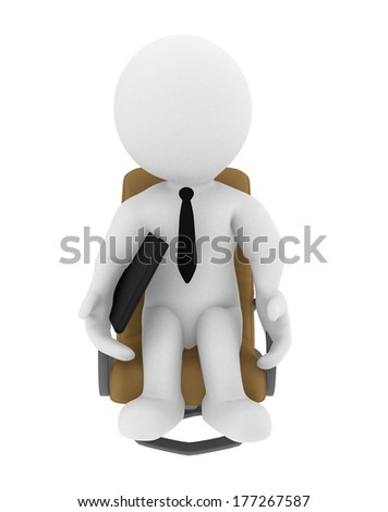 High Class rendered figure for perfect message transportation