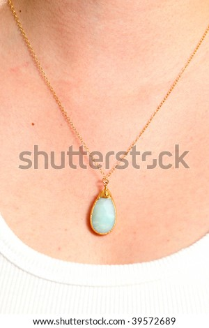 woman wearing gold jewelry stock images royalty free