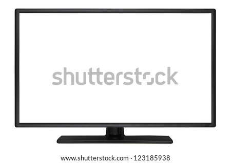 High Definition Monitor - stock photo