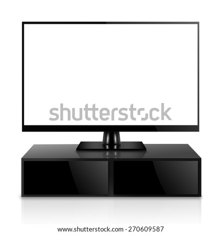 High Definition TV with TV stand
