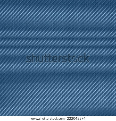 High detailed background with blue braided straws - stock photo