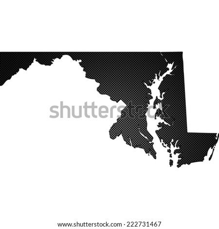 High detailed carbon map - Maryland