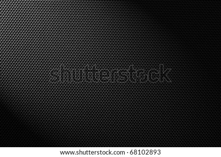 high detailed carbon texture - stock photo