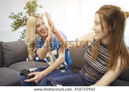 High five for great game
