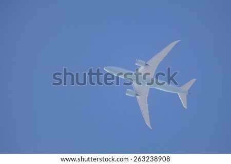 High in the sky - stock photo