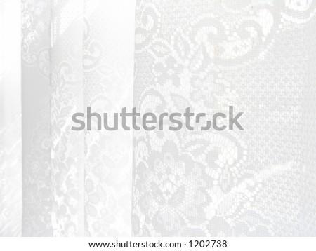 High Key Lace Pattern - stock photo