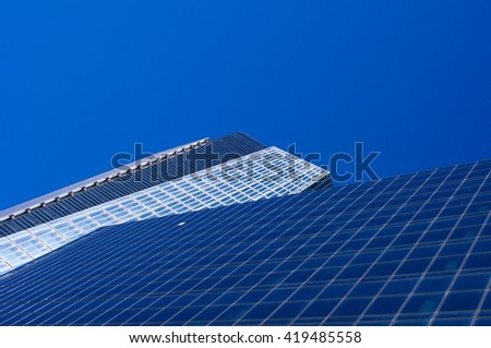 High modern building - stock photo