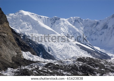 high mountains of Central Tien Shan