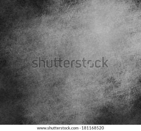 High quality background. Dark background or black texture with many scratches.