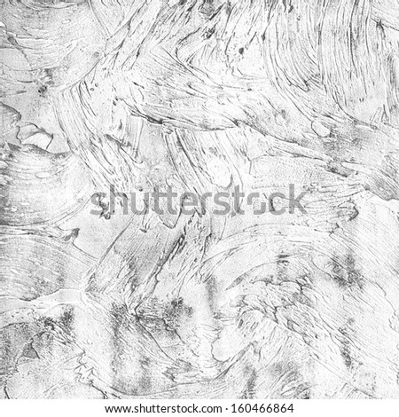 high quality black and white infrared background grunge texture wall of shabby paint and plaster cracks - stock photo