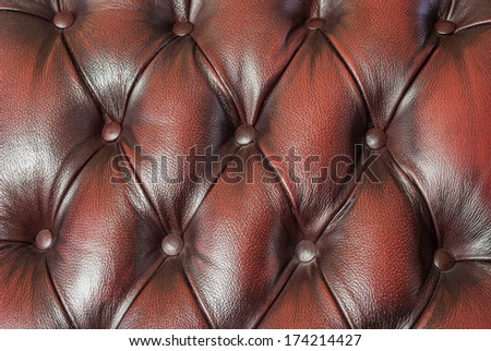 high quality leather texture in furniture