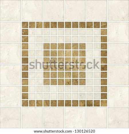 High-quality mosaic pattern decor  background.