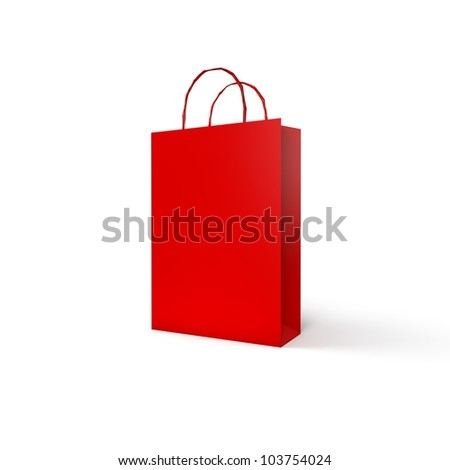 High Quality Red Package Collection - stock photo