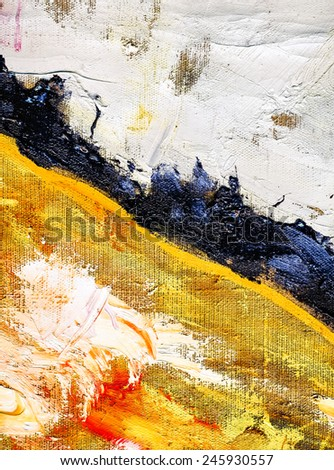 high resolution abstract yellow and white painted background