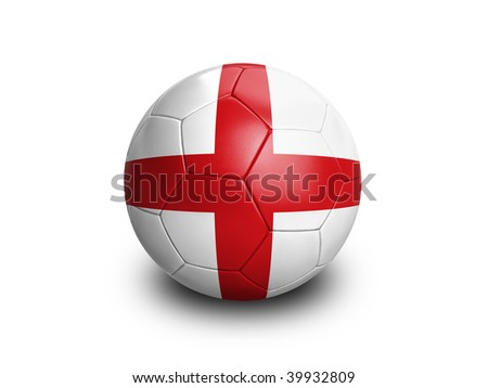 High resolution and highly detailed 3D rendering of a brazilian soccerball. With clipping path removes the soft shadow. This country qualified for the 2010 soccer world cup in South Africa. - stock photo