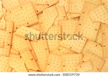 High resolution biscuits background - stock photo