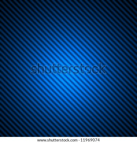 High resolution blue carbon fiber spotlight background illustration
