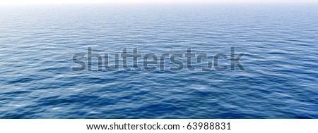 High resolution blue water