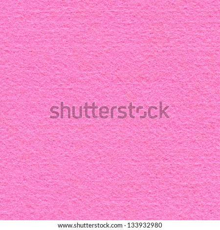 High resolution close up of bubble-gum pink felt fabric. - stock photo