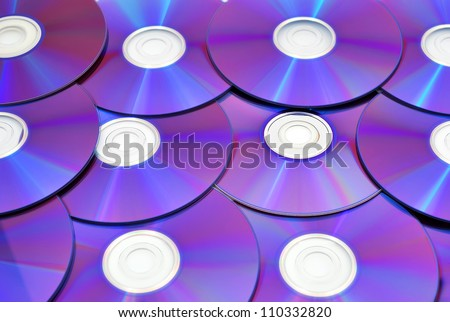 high resolution Compact Disc Texture - stock photo