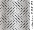 High resolution concept conceptual gray metal stainless steel aluminum perforated pattern texture mesh background as metaphor to industrial,abstract,technology,grid,silver,grate,spot,grille surface - stock vector