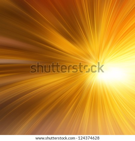 High-resolution gold abstract - stock photo