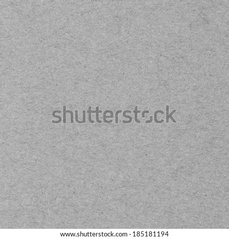 High resolution gray recycled paper texture as background - stock photo