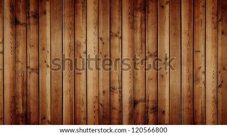 High resolution grunge wood background - stock photo