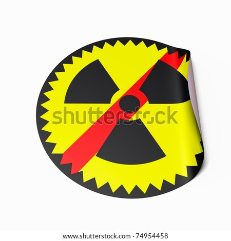 High Resolution Image Sticker Crossed Out Stock Illustration
