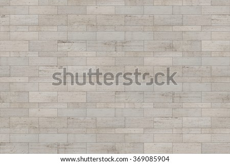 High resolution modern travertine cladding texture, laid in a contemporary style. It is perfect for facade siding, or a stone flour material cladding. Seamless texture for architectural renderings - stock photo