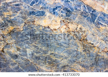 High resolution of gray marble / gray marble pattern texture abstract background / texture surface of marble stone from nature / can be used for background or wallpaper - stock photo