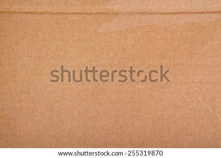 High resolution old craft cardboard. This is an actual paper, not a digitally generated image. - stock photo