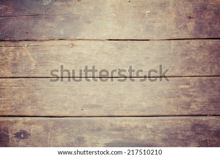 High resolution old wood texture, process color - stock photo