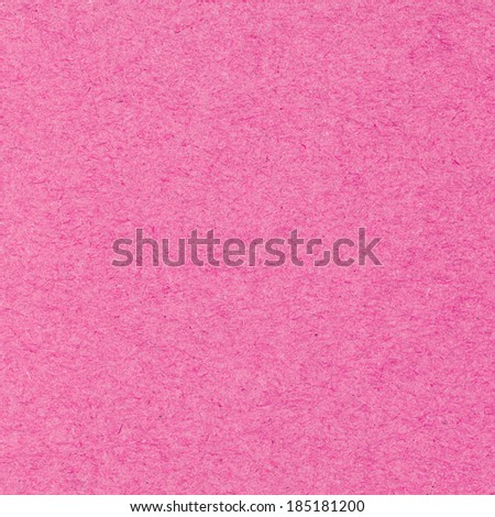 High resolution pink recycled paper texture as background - stock photo